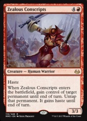 Zealous Conscripts - Foil