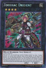 Zoodiac Drident - RATE-EN053 - Secret Rare - Unlimited Edition