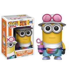 Pop! Movies 419: Despicable Me 3 - Tourist Jerry