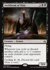 Archfiend of Ifnir - Foil on Channel Fireball
