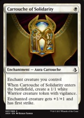 Cartouche of Solidarity - Foil