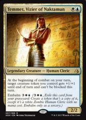 Temmet, Vizier of Naktamun - Foil