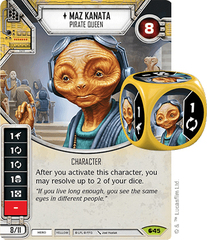 Maz Kanata - Pirate Queen