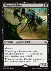 Plague Belcher - Foil on Channel Fireball