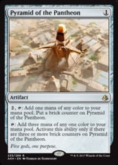 Pyramid of the Pantheon - Foil