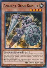 Ancient Gear Knight - SR03-EN009 - Common - 1st Edition on Channel Fireball