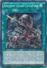 Ancient Gear Catapult - SR03-EN021 - Super Rare - 1st Edition on Channel Fireball