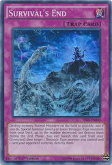 Survival's End - SR04-EN030 - Super Rare - 1st Edition on Channel Fireball