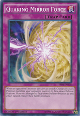 Quaking Mirror Force - SR04-EN036 - Common - 1st Edition