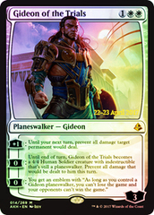 Gideon of the Trials - Foil - Prerelease Promo