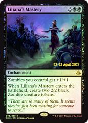 Liliana's Mastery - Foil - Prerelease Promo