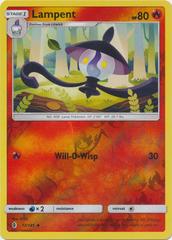 Lampent  - 12/145  - Uncommon - Reverse Holo