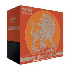 Sun & Moon GX Elite Trainer Box - Solgaleo
