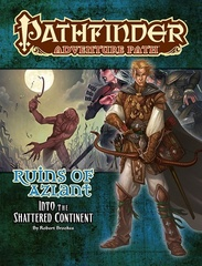 11Pathfinder Adventure Path 122 Ruins Of Azlant 2: The Shattered Continent