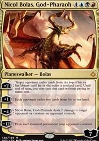 Nicol Bolas, God-Pharaoh