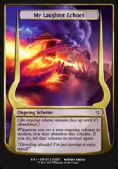 My Laughter Echoes (Jumbo Card)