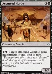 Accursed Horde - Foil on Channel Fireball