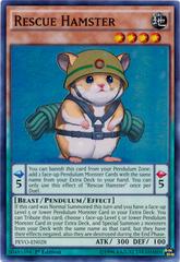 Rescue Hamster - PEVO-EN028 - Super Rare - 1st Edition
