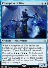 Champion of Wits - Foil (HOU)