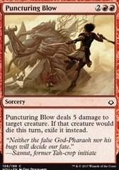 Puncturing Blow - Foil