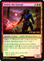 Neheb, the Eternal - Foil - Prerelease Promo