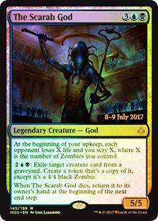 The Scarab God (HOU Prerelease Foil)