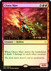 Chaos Maw - Foil - Prerelease Promo