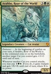 Arahbo, Roar of the World - Foil