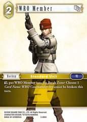 WRO Member - 3-085C - Foil