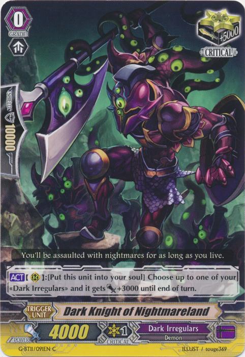 Dark Knight of Nightmareland - G-BT11/091EN - C