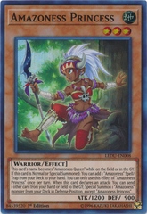 Amazoness Princess - LEDU-EN008 - Super Rare - 1st Edition on Channel Fireball