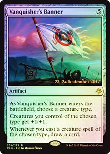 Vanquisher's Banner (Ixalan Prerelease Foil)