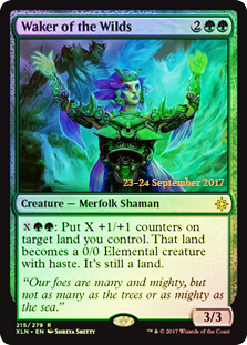 Waker of the Wilds (Ixalan Prerelease Foil)