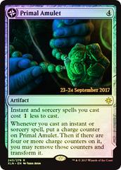 Primal Amulet // Primal Wellspring - Foil - Prerelease Promo
