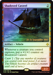 Shadowed Caravel - Foil - Prerelease Promo