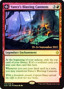 Vances Blasting Cannons // Spitfire Bastion - XLN Prerelease