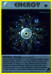Rainbow Energy - 17/82 - Holo Rare - 1st Edition
