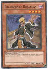 Gravekeeper's Descendant - SDMA-EN019 - Common - 1st Edition