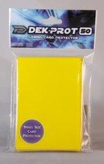 Dek Prot 50ct. Yugioh Sized Sleeves - Sunflower Yellow