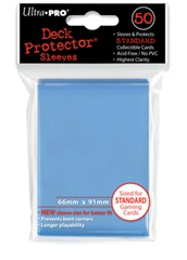 Ultra Pro Standard Size Light Blue Sleeves - 50ct
