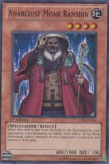 Anarchist Monk Ranshin - STBL-EN036 - Super Rare - 1st Edition on Channel Fireball