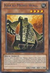 Koa'ki Meiru Wall - STBL-EN087 - Rare - 1st Edition