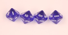 D10,000 translucent blue set
