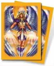 Deck Protector - Monte Manga Angel Gold (50 ct)