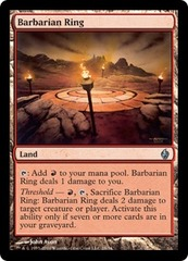 Barbarian Ring - Foil on Channel Fireball