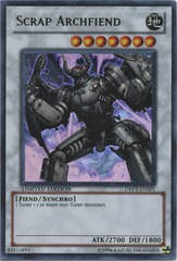 Scrap Archfiend - DREV-ENSP1 - Ultra Rare - Limited Edition on Channel Fireball