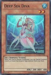 Deep Sea Diva - TU04-EN004 - Super Rare - Promo Edition on Channel Fireball