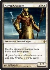 Mirran Crusader (Mirrodin Besieged Box Promo) on Channel Fireball