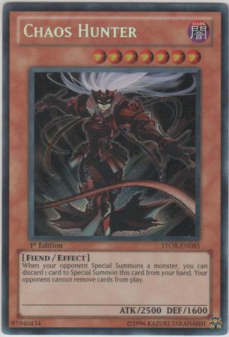 Chaos Hunter - STOR-EN085 - Secret Rare - 1st Edition