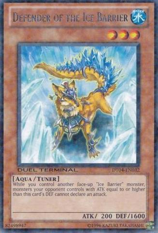 Defender of the Ice Barrier - DT04-EN032 - Rare Parallel Rare - Duel Terminal